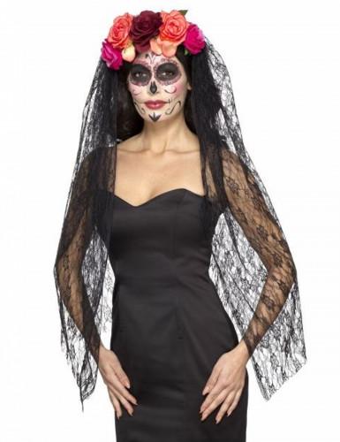 Damen-Kopfschmuck zum Dia de los muertos