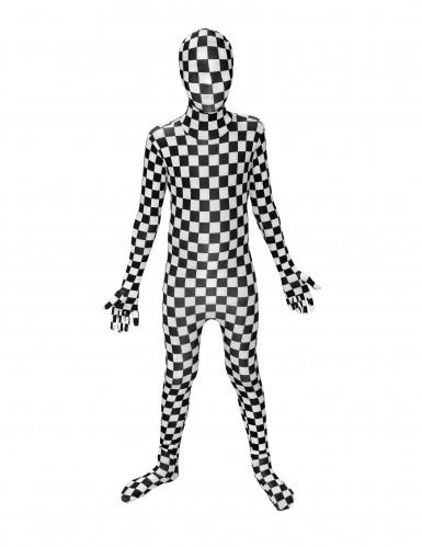 Schachbrett Morphsuits™ Kostüm für Kinder