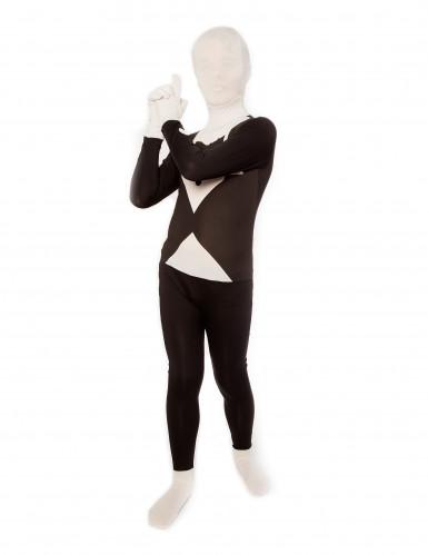 Schwarz-weiß Morphsuits™ Kostüm