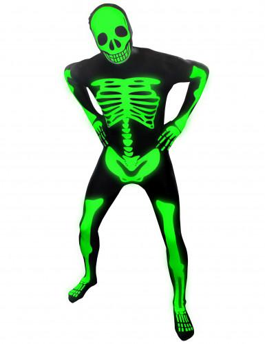 Phosphoreszierendes Skelett Morphsuits™ Kostüm