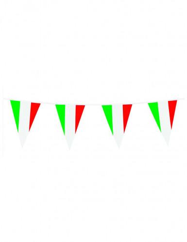 Girlande mit Italien Flagge 10m