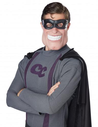 Halbmaske Superheld für Erwachsene
