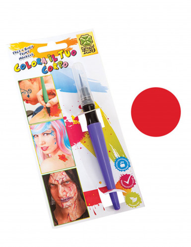 Roter Make-up Stift für Halloween und Karneval
