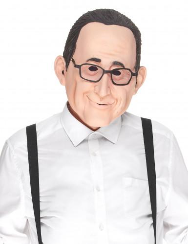 Humorvolle Latex-Maske François