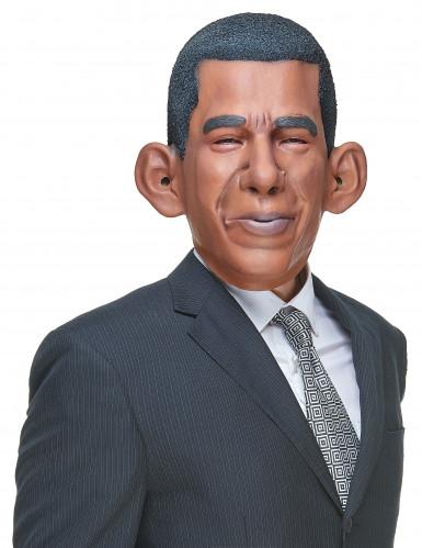 Humorvolle Latex-Maske Barack