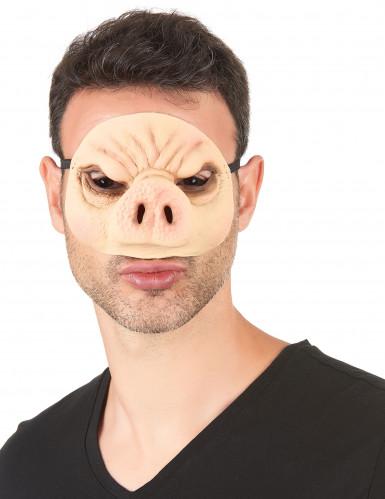 Schweinsmaske aus Latex