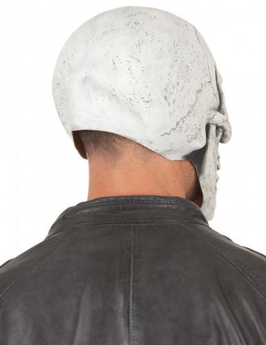 Latex-Maske lachender Schädel-1