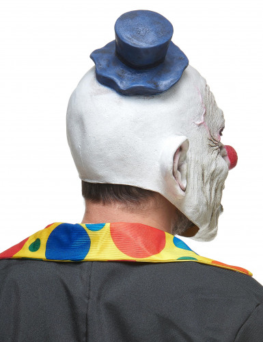 Latex-Maske zähnefletschender Clown-1