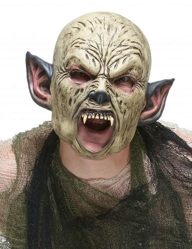 Orks-Maske aus Latex