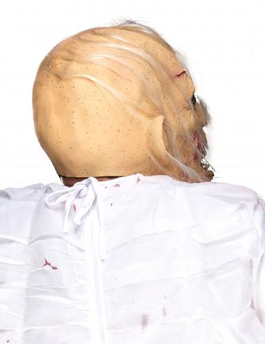 Latex-Maske sterbender Greis-1