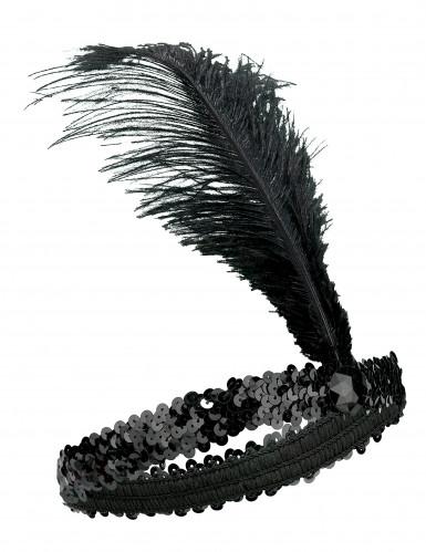 Charleston Stirnband mit Pailletten