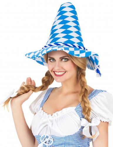 Bayern-Hut für Erwachsene blau-weiß-1