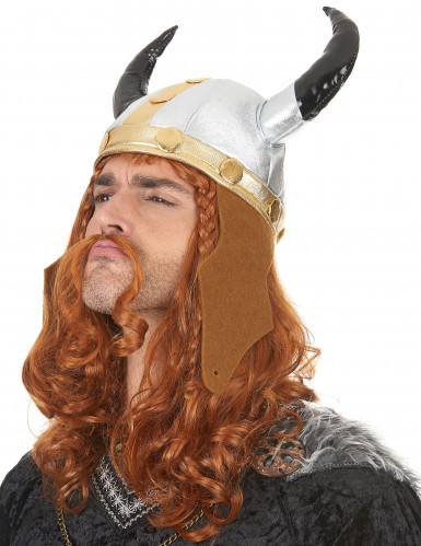 Wikinger-Helm im Metallic-Look-1
