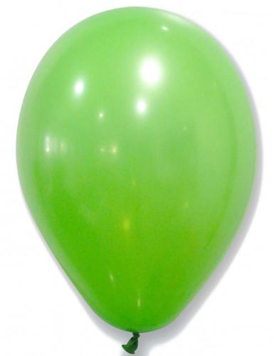 50 grüne Luftballons