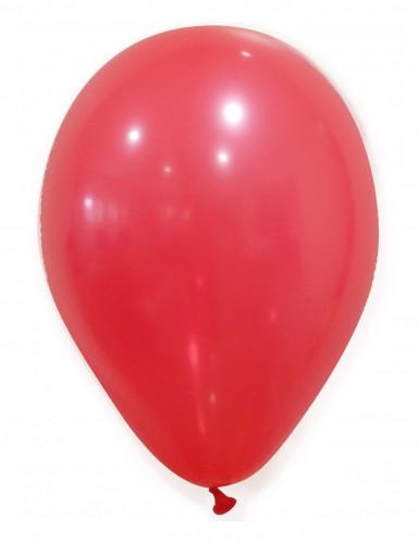 50 Luftballons - rot