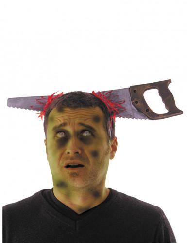 Stirnband blutige Säge Erwachsene Halloween Einheitsgröße