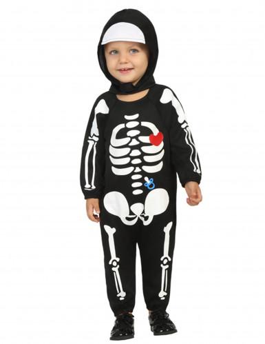 Skelett-Kostüm für Jungen