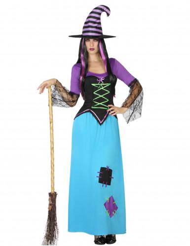 Hexen Kostüm mit Flicken
