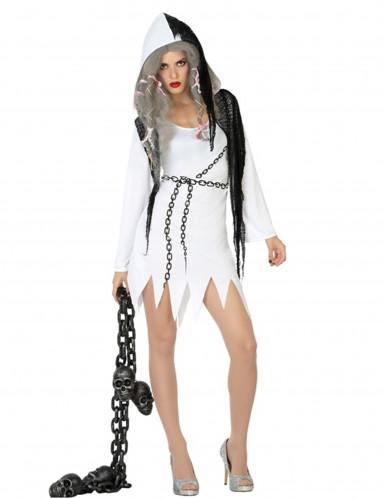 klare Textur reich und großartig stylistisches Aussehen Sexy Gespenster Kostüm für Damen Halloween