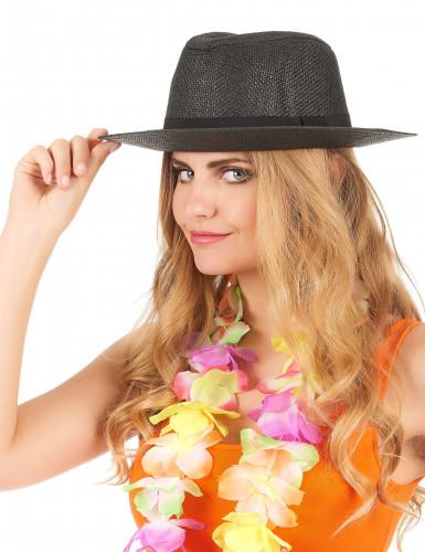 Grauer Panama-Hut für Erwachsene-1