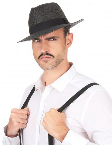 Grauer Panama-Hut für Erwachsene-2