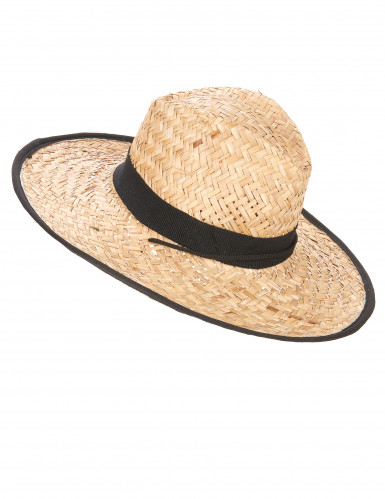 Cowboy-Hut mit schwarzem Band für Erwachsene