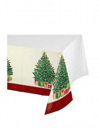 Kunststofftischdecke Tannenbaum