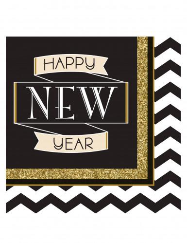 5 Spiralen als Neujahrsdekoration