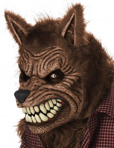 Animierte Werwolfmaske für Erwachsene