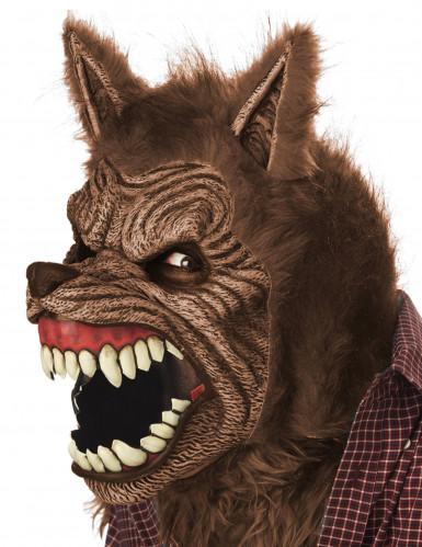 Animierte Werwolfmaske für Erwachsene-1