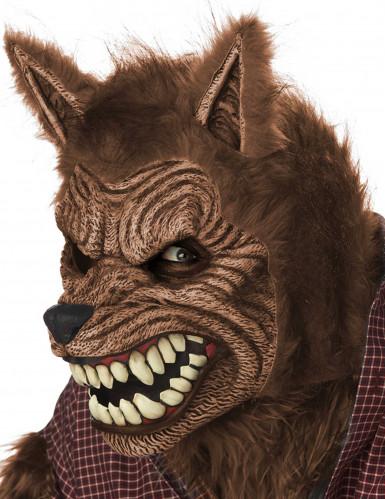 Animierte Werwolfmaske für Erwachsene-2