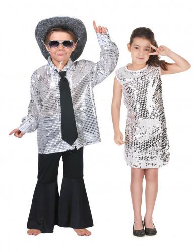 Silber Disco Kostüme