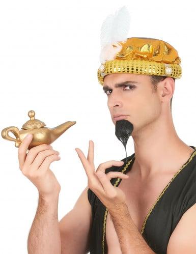 Sultan Turban-Mütze für Erwachsene gold-1