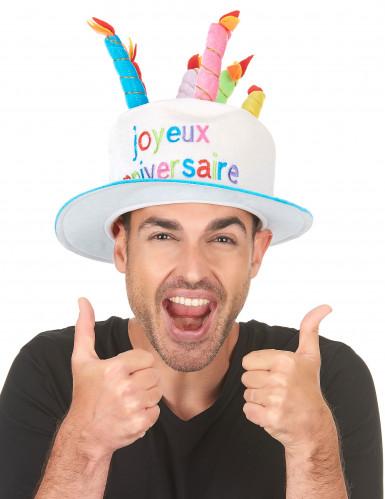 Hut Joyeux Anniversaire für Erwachsene-1