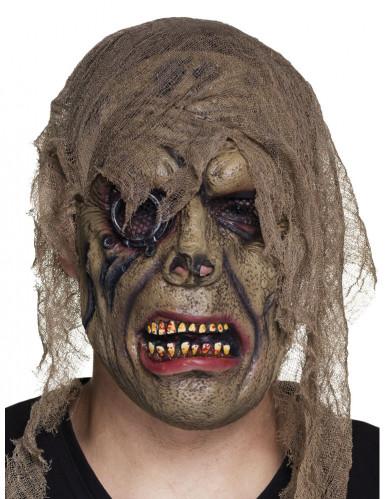 Piraten Zombie Maske für Erwachsene