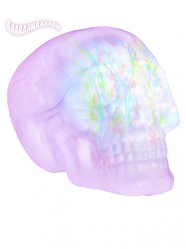Totenschädel mit Licht- und Soundeffekt, 32 cm