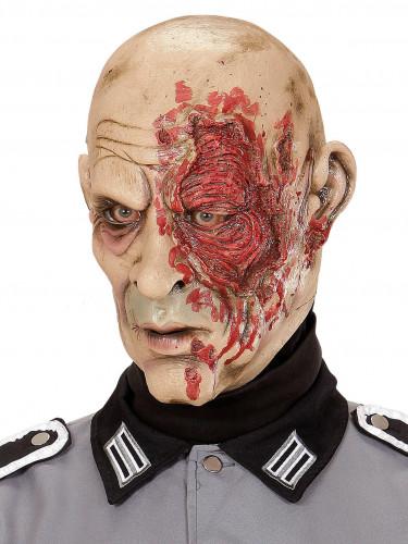 Halloween Maske Zombi General 2. Weltkrieg für Erwachsene
