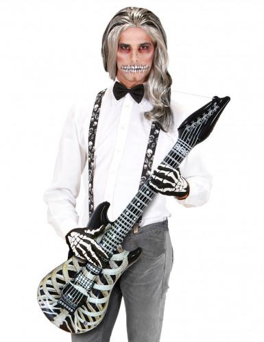 Aufblasbare Skelett-Gitarre 105 cm