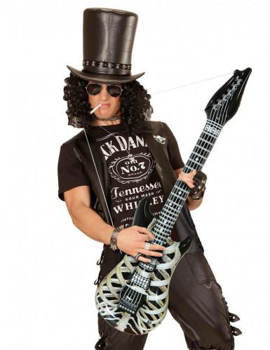 Aufblasbare Skelett-Gitarre 105 cm-1