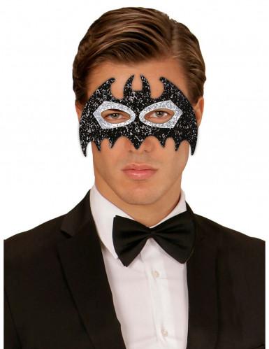 Glitzernde Augenmaske Fledermaus für Erwachsene-1
