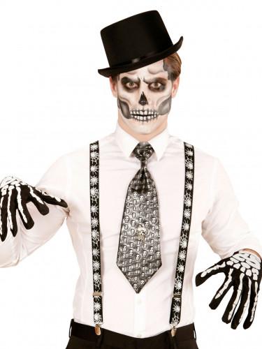 Spinnen Hosenträger Halloween für Erwachsene