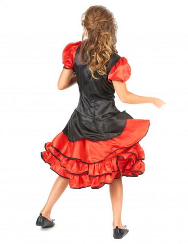 Cancan Tänzerinnen Kostüm für Kinder-2