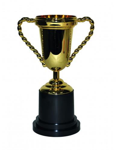 Gold-Trophäe Pokal 25 cm