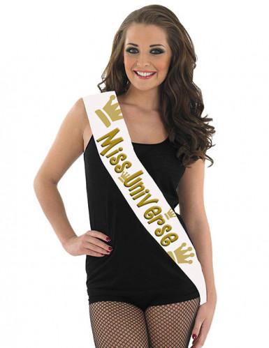 Schärpe Miss Univers 80 x 14 cm