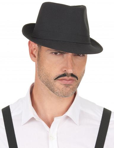 Schwarzer Borsalino Hut für Erwachsene-2