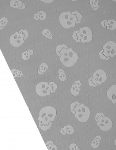 Tischläufer mit Totenköpfen für Halloween-1