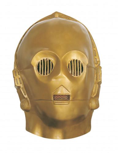 C3PO Maske STar Wars™ für Erwachsene
