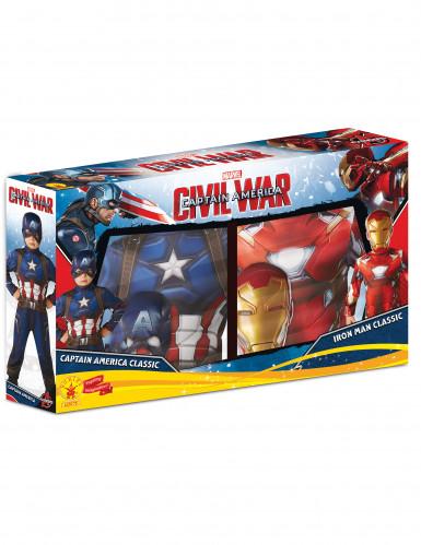 Iron Man™ und Captain America™ Kostüme für Kinder-1