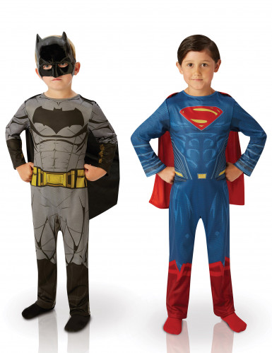 Set aus 2 Kostümen für Kinder: Batman und Superman - Dawn of Justice™