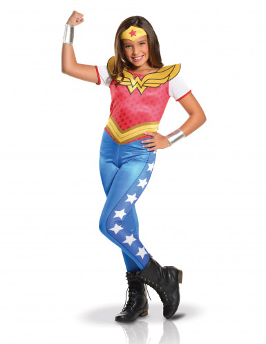 Wonder Woman™ Kostüm für Mädchen